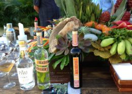 Sammy's Beach Bar Rum & Pau Maui Vodka