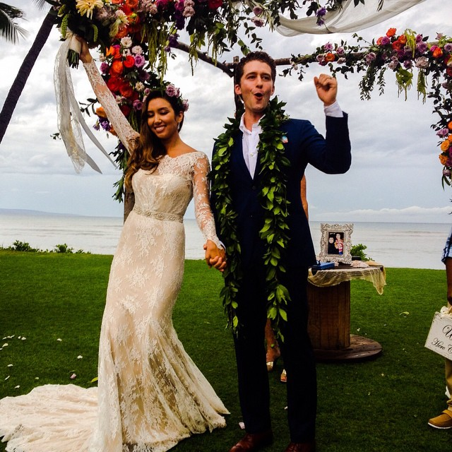 Congratulations to Matthew Morrison and Renee Puente! Officially now Mr. & Mrs. Morrison.  So awesome to have been a part of your journey from your engagement to this very special BIG day! Two incredible people! To hear more about this Celebration, check out this link http://www.people.com/article/matthew-morrison-marries-renee-puente #matthewmorrison #reneepuente #celebrationsmaui #celebrationscatering #mauicatering #mauicaterers #bevgannon #luxurymsuiweddings #mauieventplanners #mauieventplanning